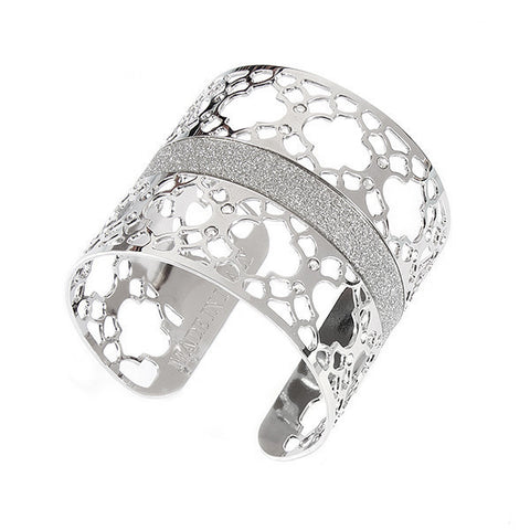 Related product : Bracciale rigido con decoro zellige e Swarovski