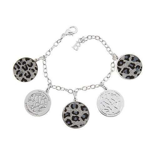 Related product : Bracciale con charms leopardati