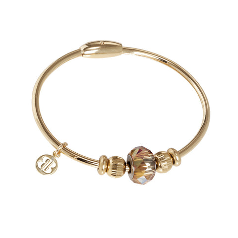 Related product : Bracciale con passante in cristallo Swarovski copper