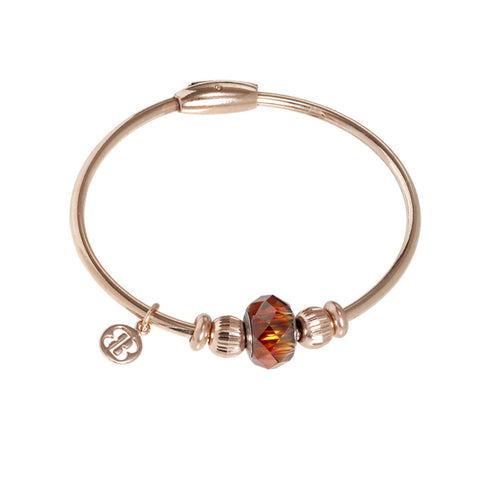 Related product : Bracciale con passante in cristallo Swarovski red magma