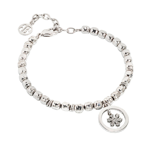Related product : Bracciale beads con fiocco di neve zirconato