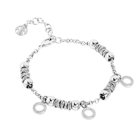 Related product : Bracciale beads con cerchi zirconati