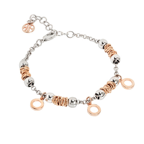 Related product : Bracciale beads con cerchi rosati