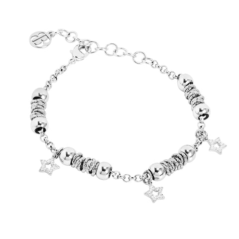 Related product : Bracciale beads con stelle zirconate