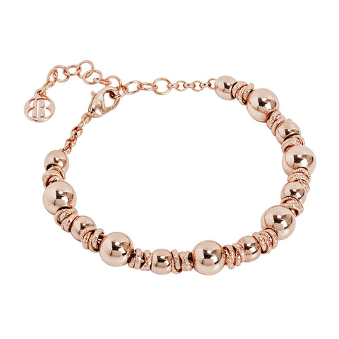 Related product : Bracciale con sfere rosate
