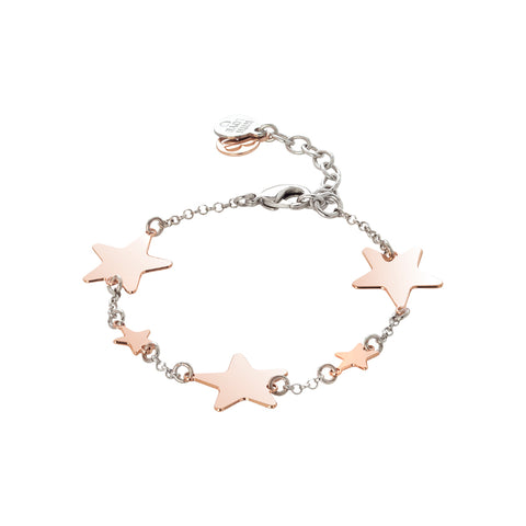 Related product : Bracciale con stelle lucide rosate