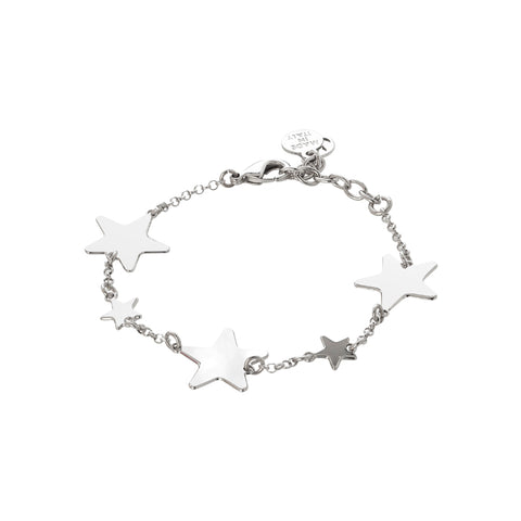 Related product : Bracciale con stelle lucide alternate a stelle passanti