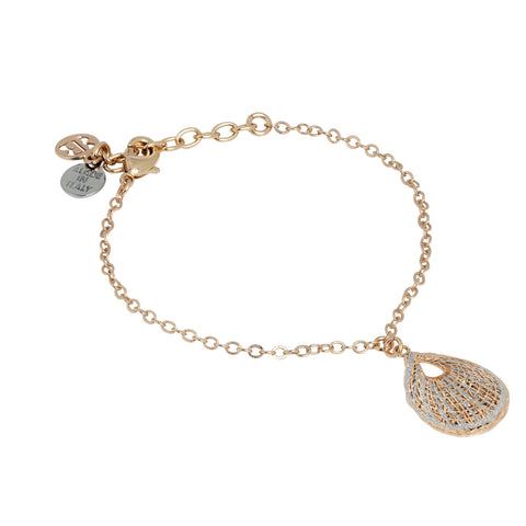 Related product : Bracciale con pendente a conchiglia ed intreccio in elettrofusione