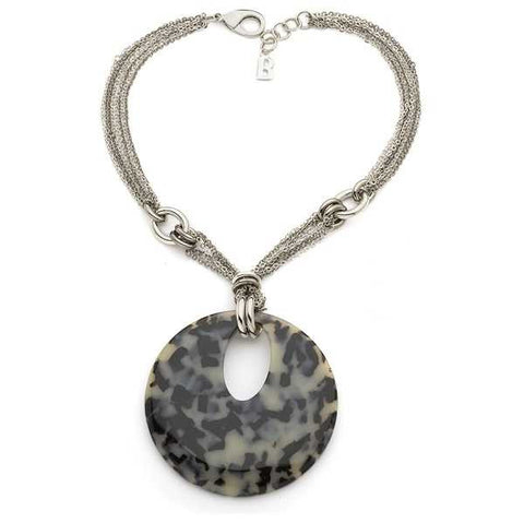 Related product : Collana multifilo con centrale animalier