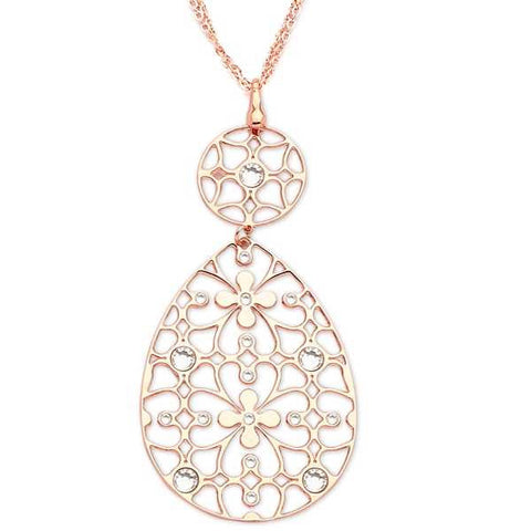 Related product : Collana in bronzo e cristalli Swarovski crystal