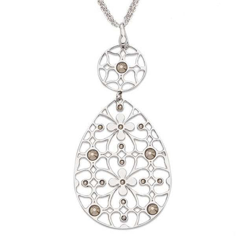 Related product : Collana in bronzo e cristalli Swarovski oro metallizzato