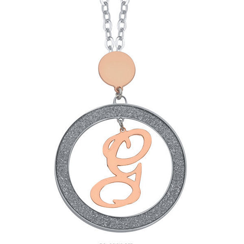 Related product : Collana con lettera G pendente piccolo