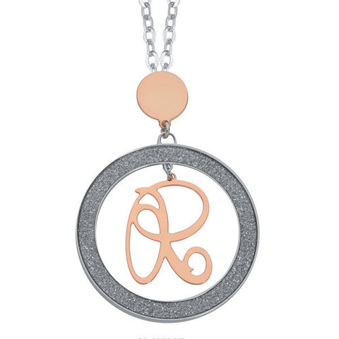 Related product : Collana con lettera R pendente piccolo