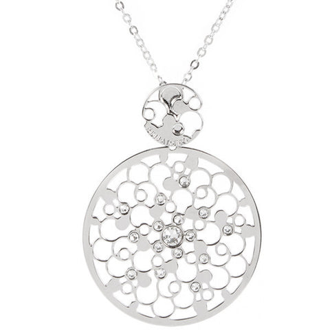 Related product : Collana con decoro rugiada e cristalli crystal