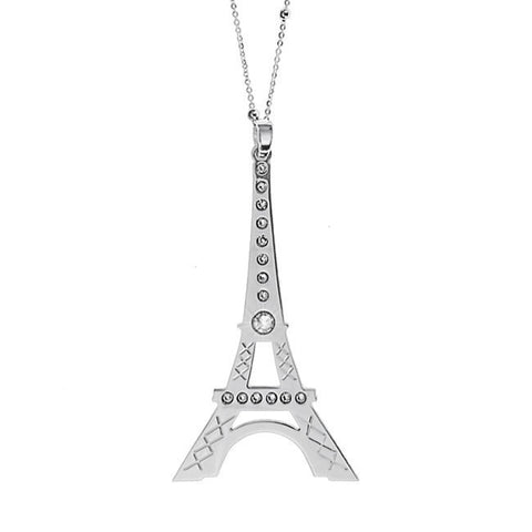Related product : Collana con maxi pendente raffigurante la Tour Eiffel