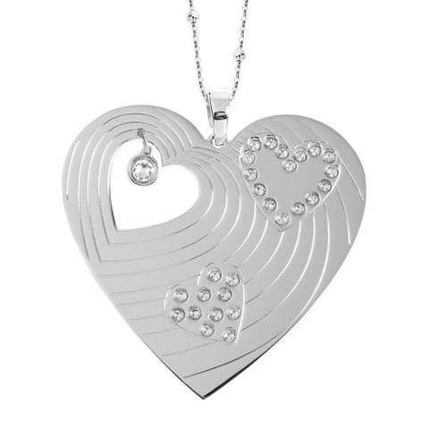 Related product : Collana con maxi pendente a forma di cuore