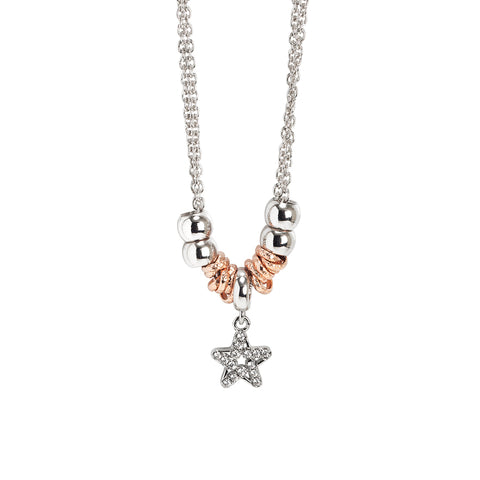 Related product : Collana con pendente a forma di stella e zirconi