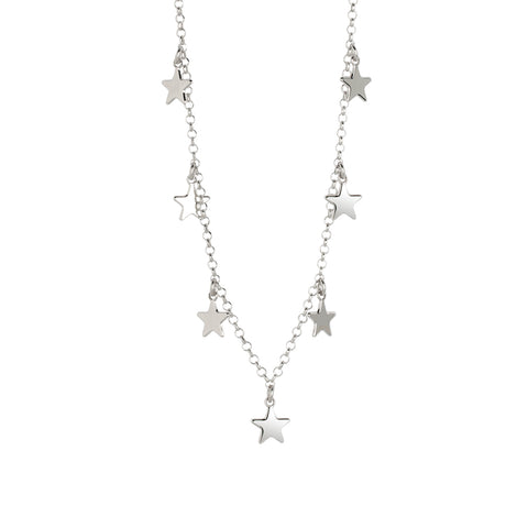 Related product : Collana con stelline pendenti lisce