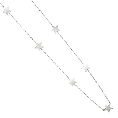Related product : Collana lunga diamantata con stelle