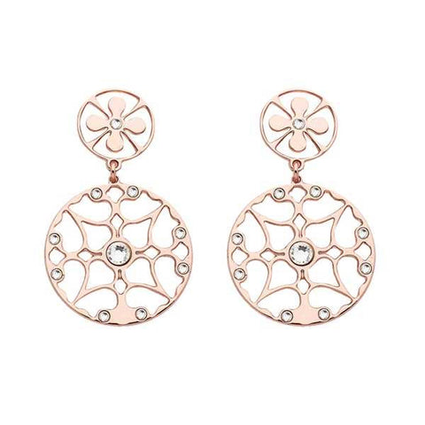 Related product : Orecchini piccoli in bronzo e cristalli Swarovski crystal