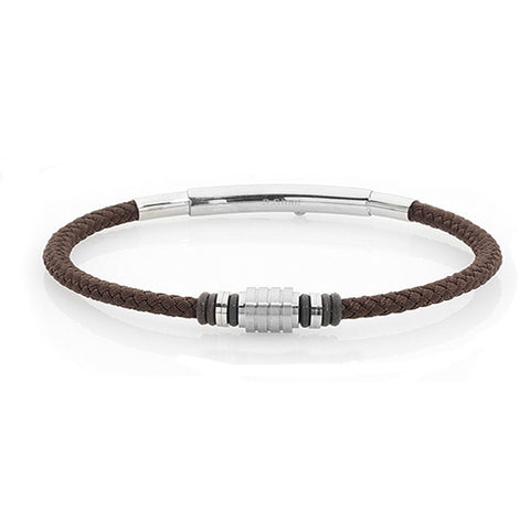 Related product : Bracciale in sagola marina marrone