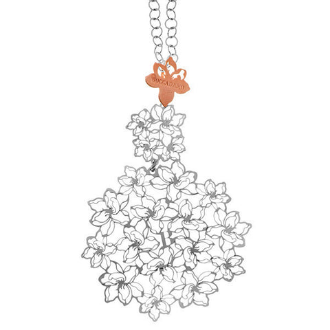 Related product : Collana in argento rodiato