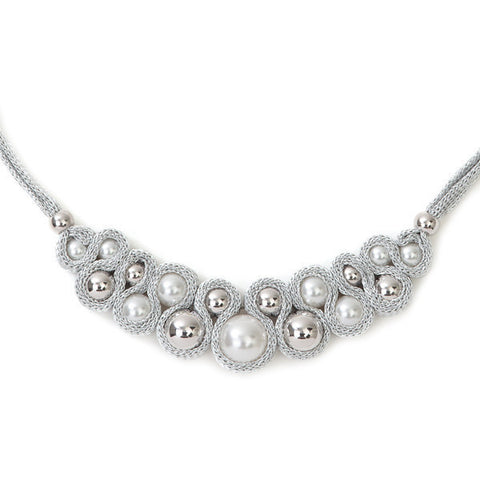 Related product : Collana in lamè e Swarovski