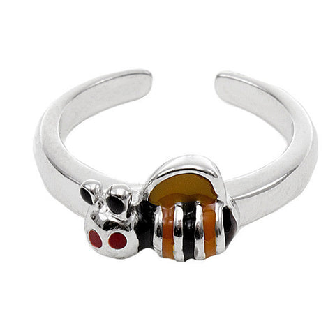 Related product : Anello bimba in argento con ape