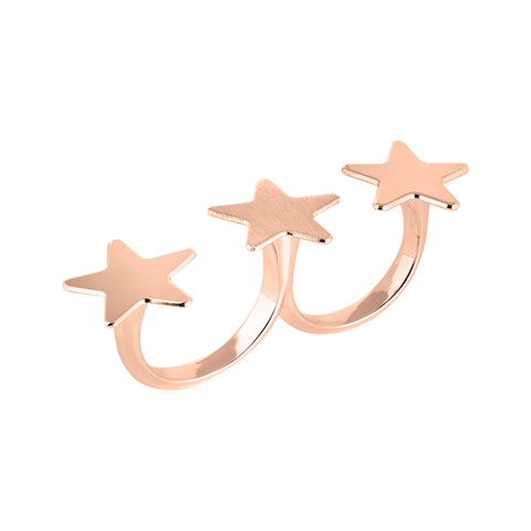Related product : Anello doppio con stelle
