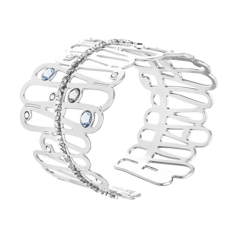 Bracciale rigido con crystal rock