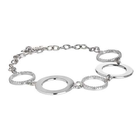 Related product : Bracciale modulare con zirconi
