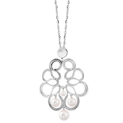 Related product : Collana con decoro a nastro e perle Swarovski