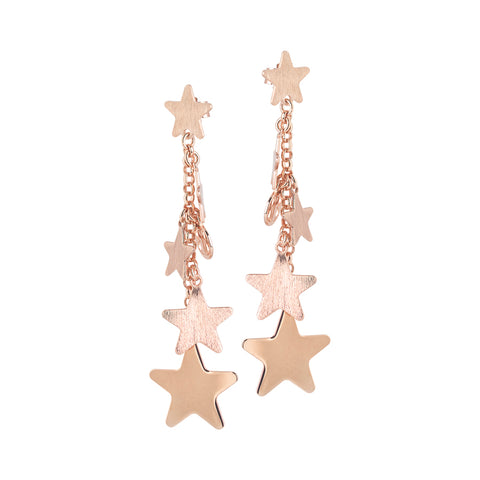Related product : Orecchini pendenti con ciuffetto di stelle degradè