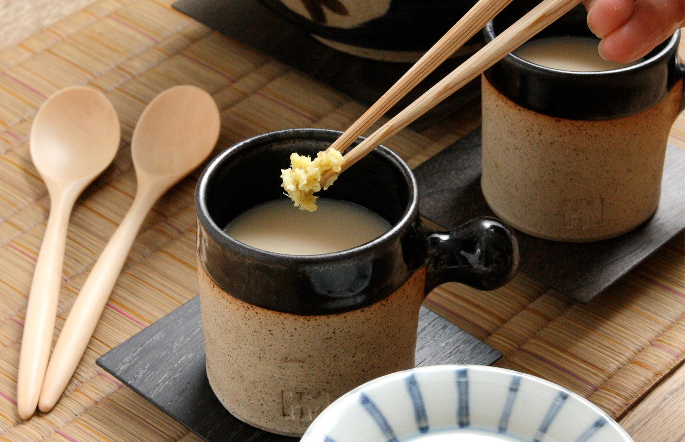 Hot Ginger Amazake Drink