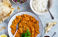 Roasted Red Pepper and Chickpea Korma