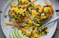 Curried Scrambled Tofu
