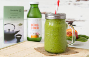 King Coco Smoothie with Coconut Water, Green Tea & Nectarine