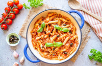 Brown Rice Miso Bolognese / Ragu Pasta Bake