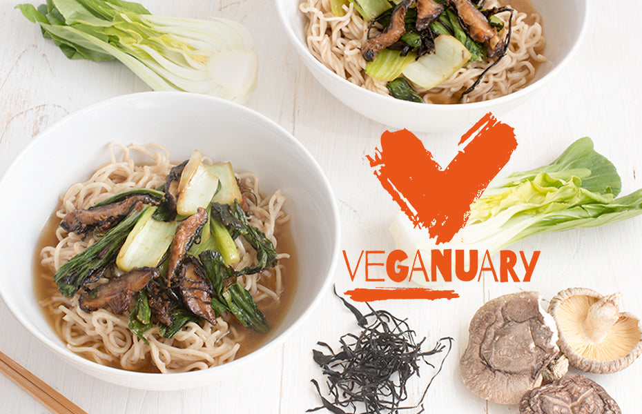 Proud to support Veganuary!