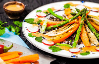 Roasted Carrot & Fennel Salad with Umeboshi Dressing