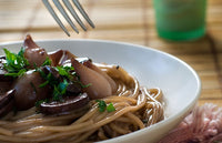 Spaghetti with Sauce Bourguignonne