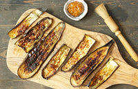 Umami Chilli Roasted Aubergine