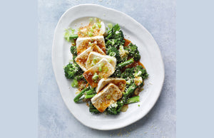 Waitrose Recipe - Silken tofu with broccoli & soy-miso dressing