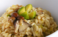 Wild Mushroom & Brussels Sprout Risotto