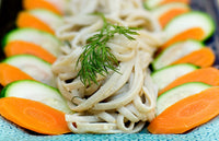 Noodles With Miso-Tahini Sauce