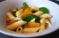 Penne Pasta with Roasted Butternut Squash & Avocado Oil
