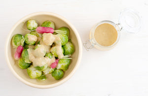 Sweet White Miso Dressing for Salads, Roasts & Dips