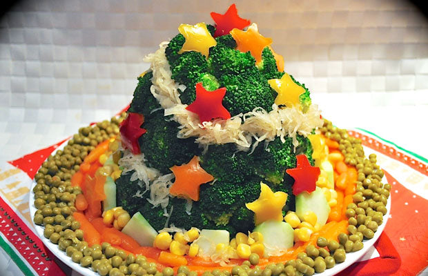 Bio Kitchen Vegetable Christmas Tree