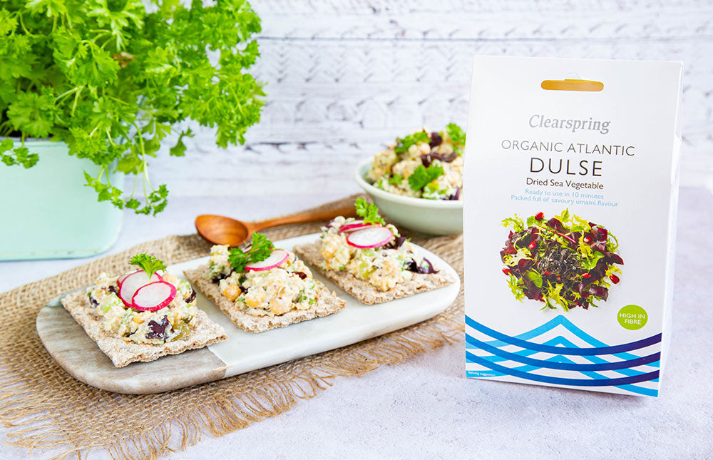 Atlantic Dulse Mock Tuna Chickpea Salad