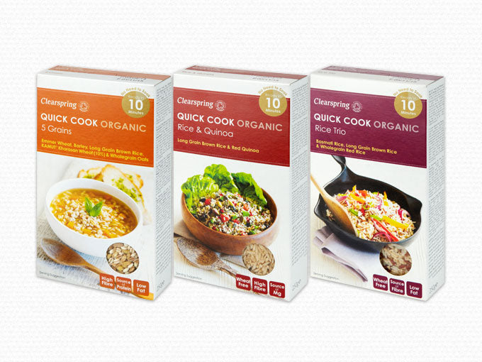 Quick Cook Organic Grains & Pulses